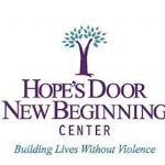 image of the logo for Hope's Door New Beginning Center