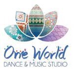 image of logo for One World Dance and Music Studio
