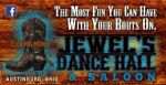 image of logo for Jewels Dance Hall