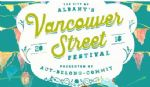 image of logo for The Vancouver Street Festival 2018