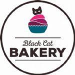 image of logo for Black Cat Vegan Bakery