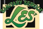 image of logo for Les' Sanitary Service