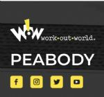 image of logo for Work out World - Peabody