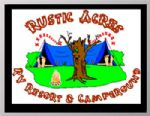 image of logo for Rustic Acres RV Resort & Campground