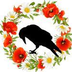 image of logo for Raven Flower Designs